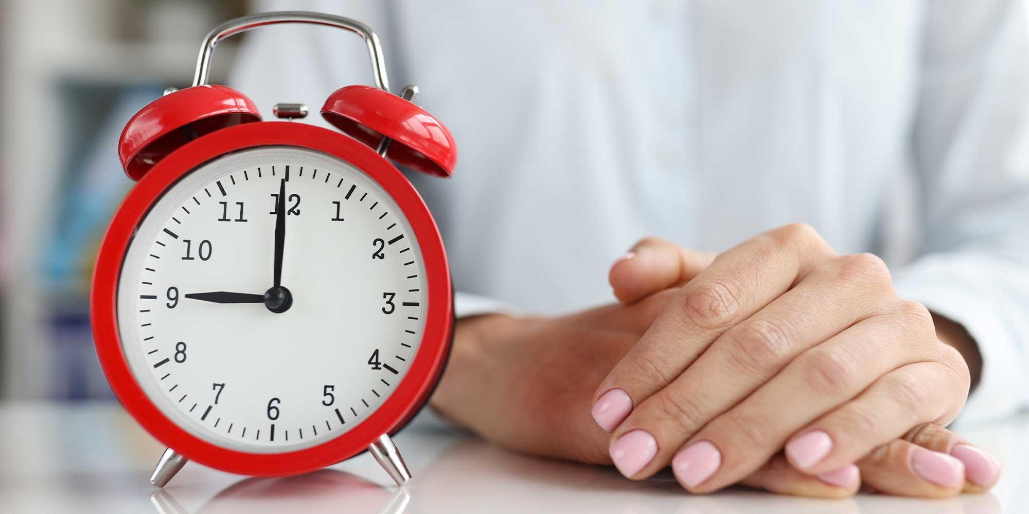 5 dicas para você otimizar a gestão de tempo do seu escritório.